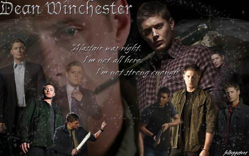 Dean 天使 wings 壁纸