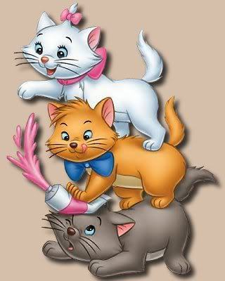 Classic Disney wallpaper probably with anime titled Aristocats