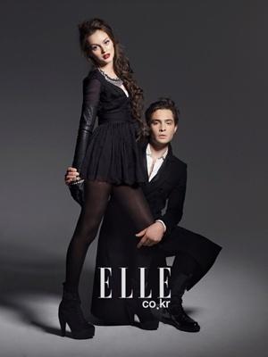Ed/Leighton - Elle Photoshoot