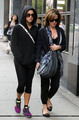 Elizabeth and Nikki out in Vancouver - twilight-series photo