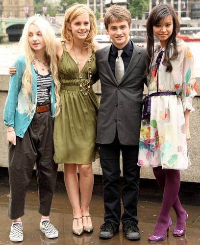 Evanna, Emma, Dan and Katie