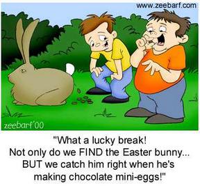 Evil ester Bunny!!!!