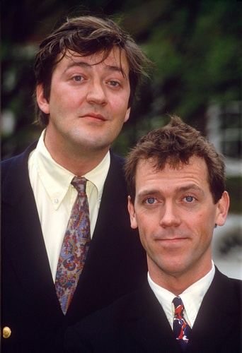 Fry and Laurie - stephen-fry Photo