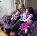 General Micheal Aoun With his CUTE grand Children