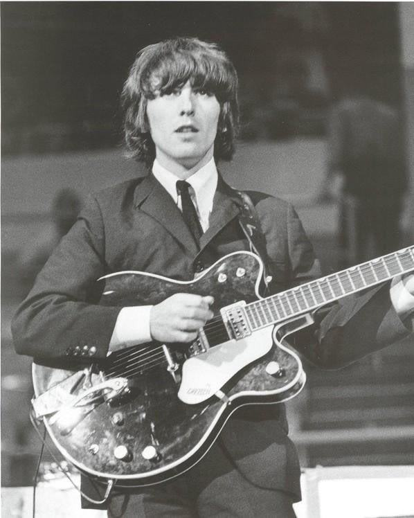 George harrison famous beatles guitar for The harrison