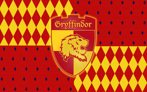 Gryffindor Hintergrund probably with a sign titled Gryffindor