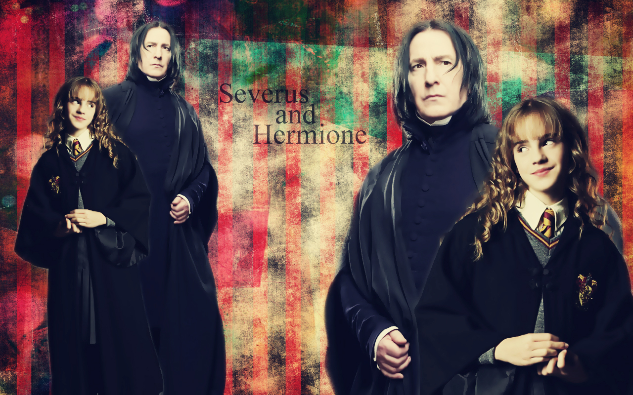 Hermione and Snape - Hermione & Severus Wallpaper (7700960