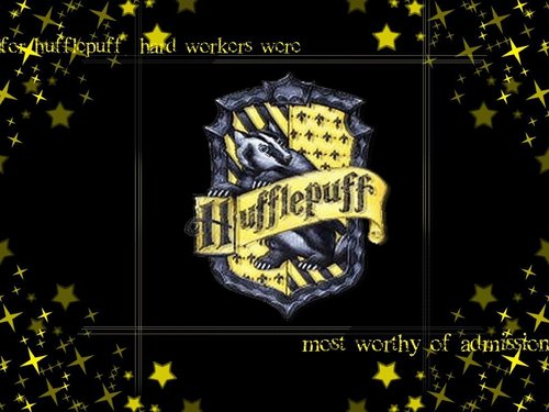 Hufflepuff wallpaper probably with anime titled Hufflepuff