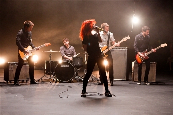 Ignorance Video Shoot 1 (Paramore) - brand-new-eyes photo