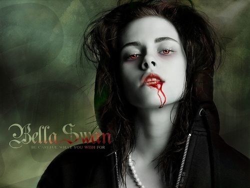 Twilight Series wallpaper probably containing a portrait entitled Isabella  Cullen