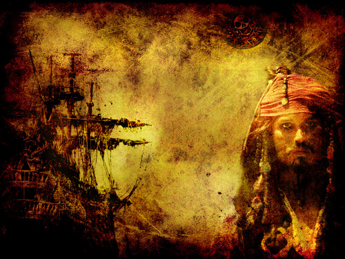 Pirates of the Caribbean wallpaper probably containing a sign entitled Jack Sparrow