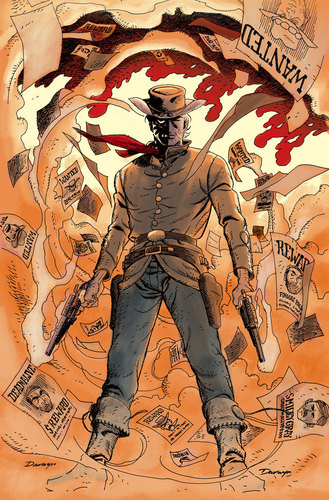 Jonah Hex #50 covers