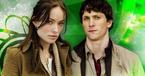 Jonathan Tucker wallpaper possibly with an outerwear, a box coat, and a well dressed person entitled Jonathan and Olivia