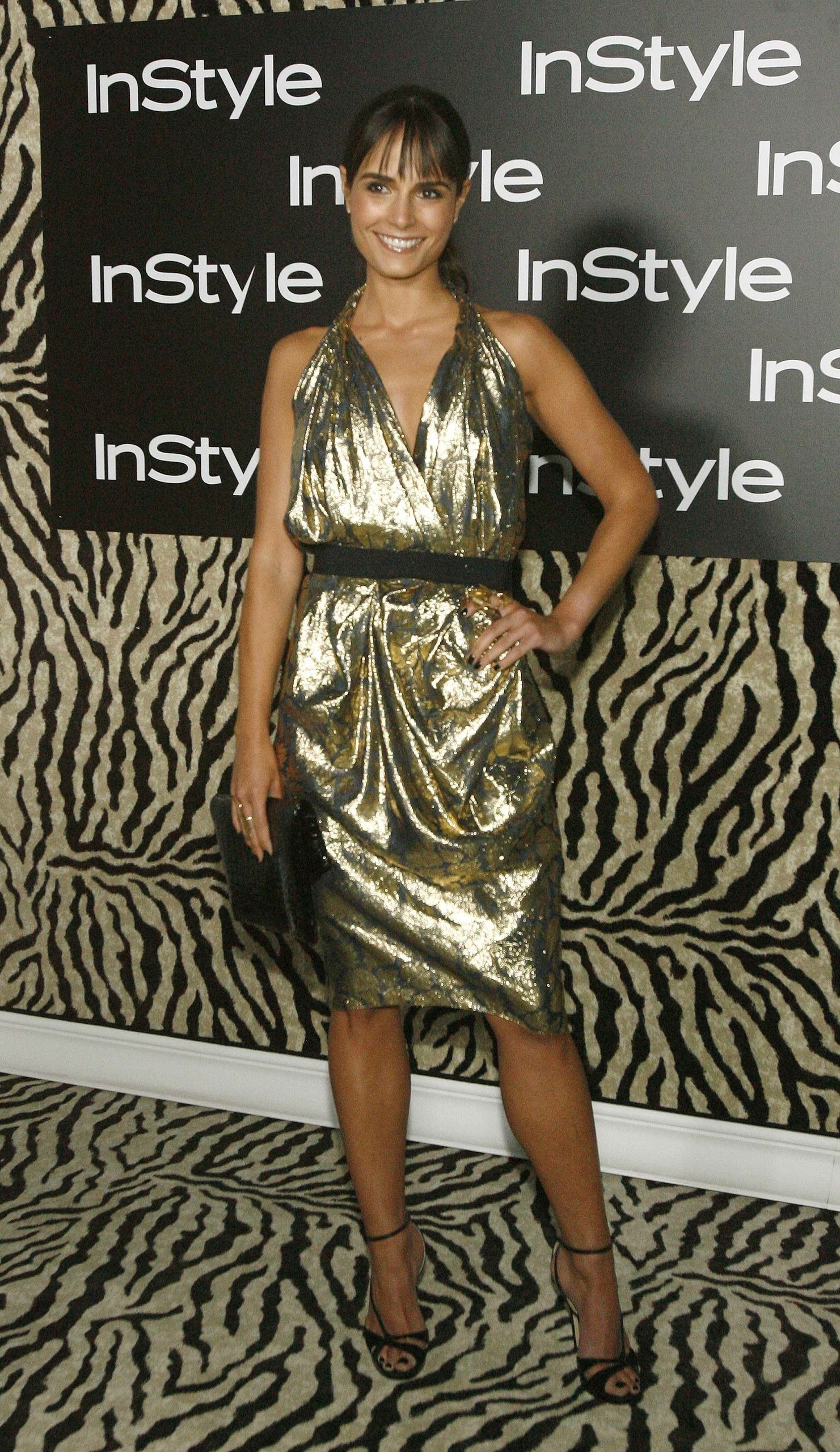 Jordana at Instyle with Tucker Paisley Clutch