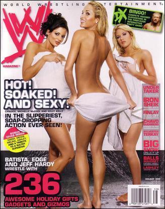 WWE Magazine Cover