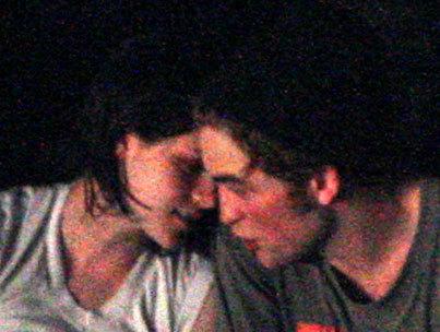 are kristen stewart and robert. Kristen Stewart and Robert