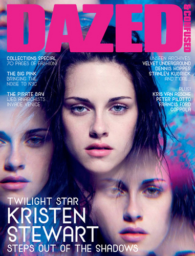 Kristen on the cover of Dazed & Confused Sept 09 (What do آپ think?)