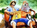 monkey-d-luffy - Luffy Having Fun wallpaper