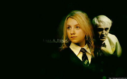 Luna and Draco