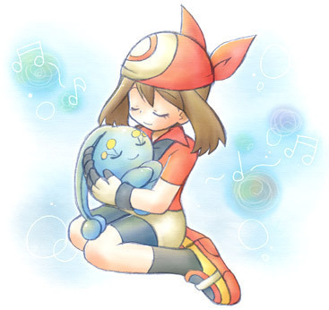 Manaphy and May pag-awit lullaby