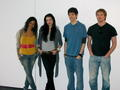 Merlin cast at the London Expo 2009