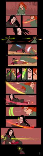 Molly vs Bellatrix
