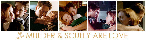 Mulder and Scully Are l'amour