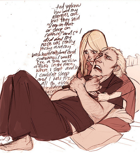Lucius and Narcissa - lucius-and-narcissa-malfoy Fan Art