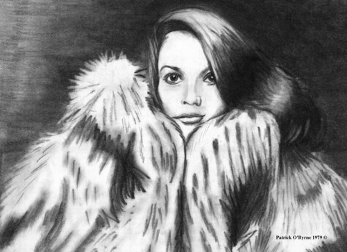 Natalie Wood drawing