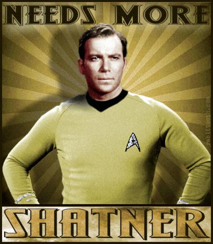 Needs আরো Shatner