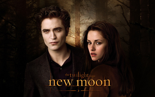 New Moon HD mga wolpeyper WideScreen