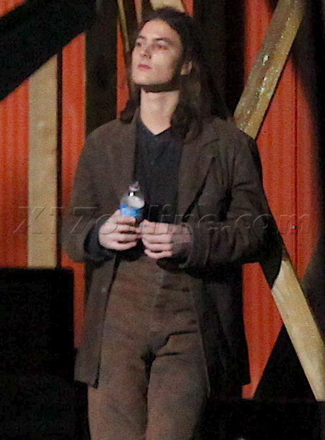 New Photos: Royce King II on the set of Eclipse last night