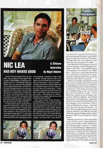 Nicholas Lea