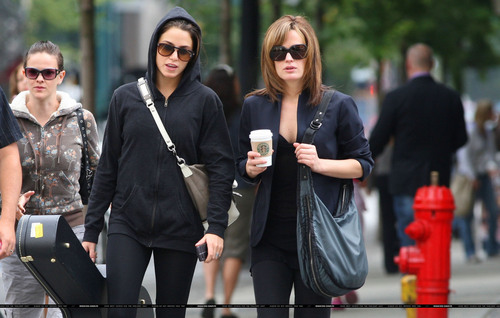 Nikki and Elizabeth in Vancouver