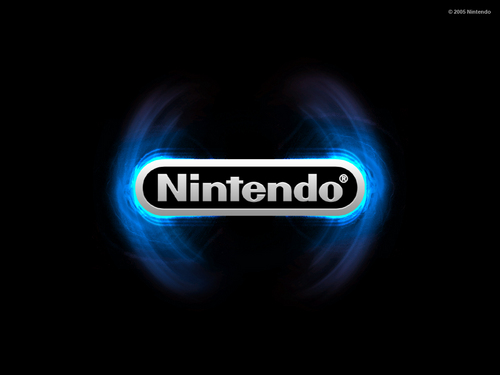 Nintendo wallpaper entitled Nintendo blue