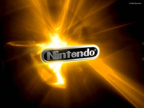 Nintendo wolpeyper entitled Nintendo yellow