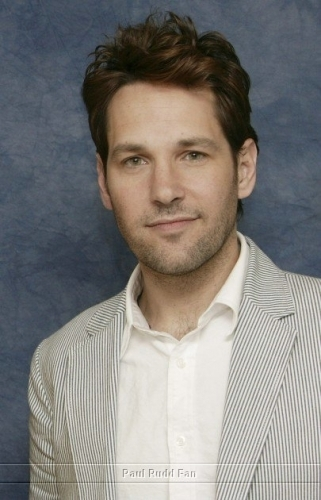 Paul Rudd wallpaper possibly containing a portrait entitled Paul Rudd at Knocked up Press Conference