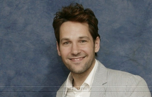 Paul Rudd wallpaper possibly containing a portrait titled Paul Rudd at Knocked up Press Conference