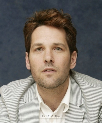 Paul Rudd wallpaper probably with a portrait entitled Paul Rudd at Knocked up Press Conference