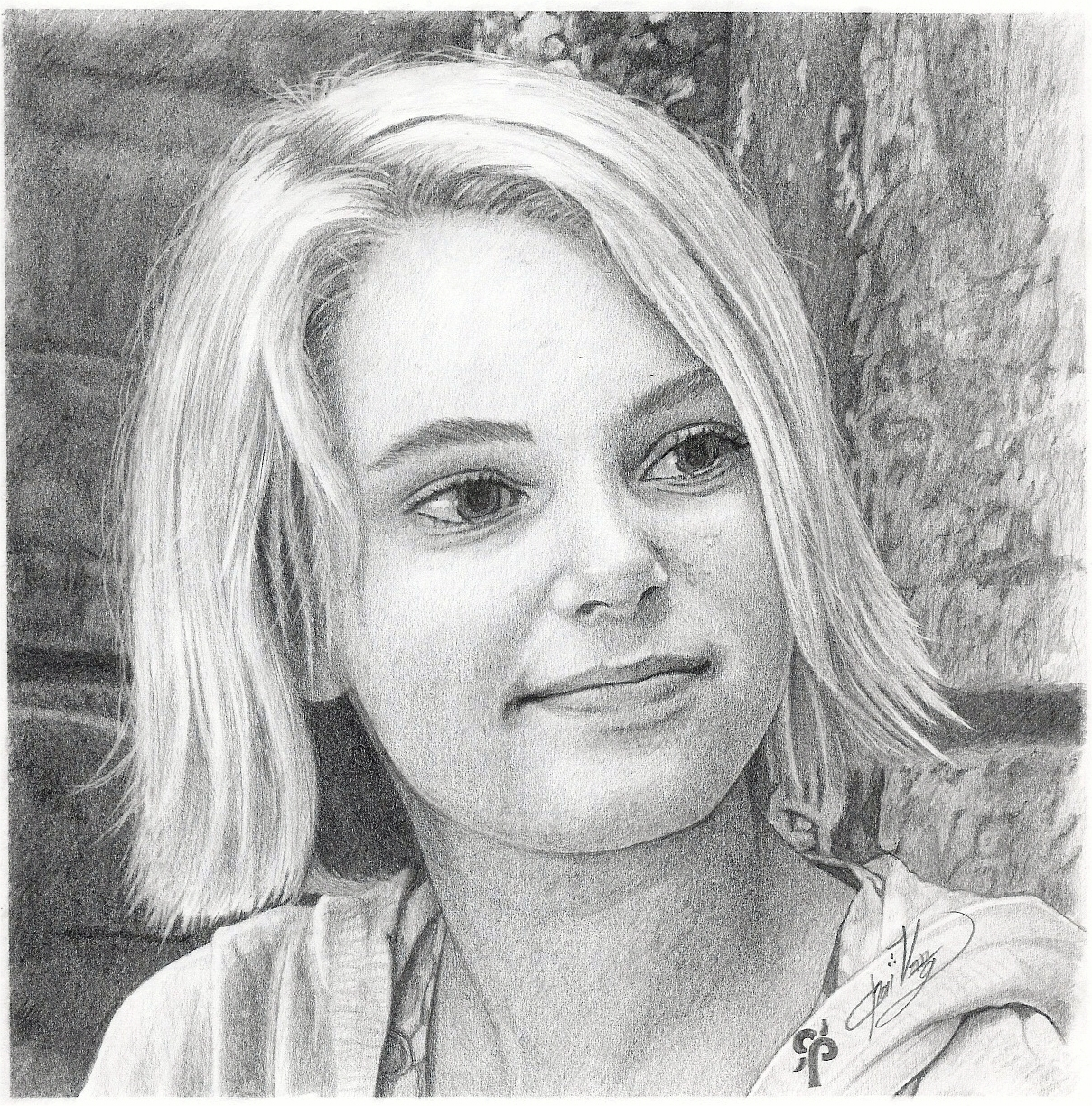 Annasophia robb pencil portraits