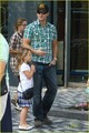 Peter Facinelli and his daughters <3