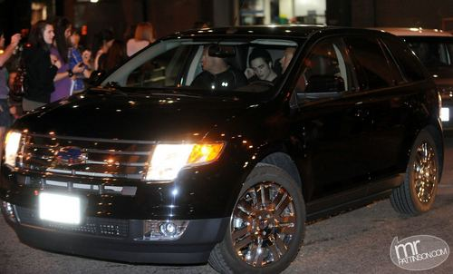 Rob Leaving Water Street Cafe after KoL Concert