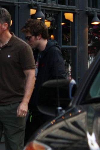 Rob is out in Vancouver