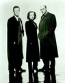 Robert, Gillian, and Mitch - the-x-files photo