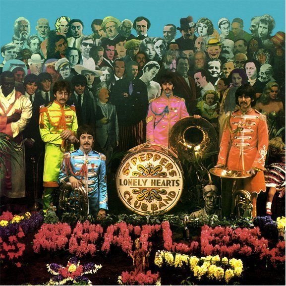 sgt pepper photo shoot the beatles photo 7755915 fanpop. Black Bedroom Furniture Sets. Home Design Ideas