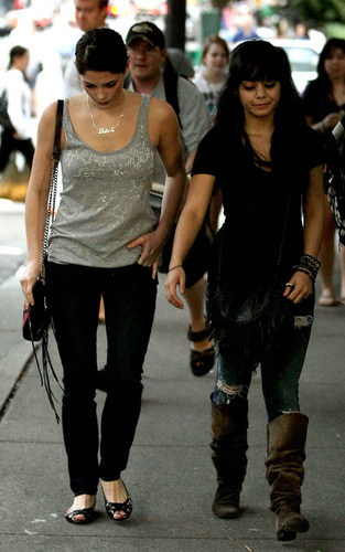 Shopping with Vanessa Hudgens