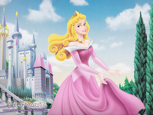 Disney Heroines wallpaper titled Sleeping Beauty/Aurora