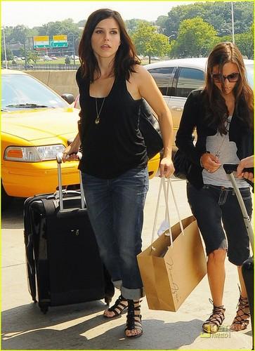 Sophia & Austin at Airport