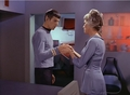 Spock and Christine - The Naked Time - spock-and-christine-chapel photo
