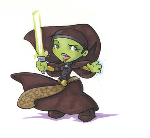 Star Wars Chibi Fan Art 7727060 Fanpop